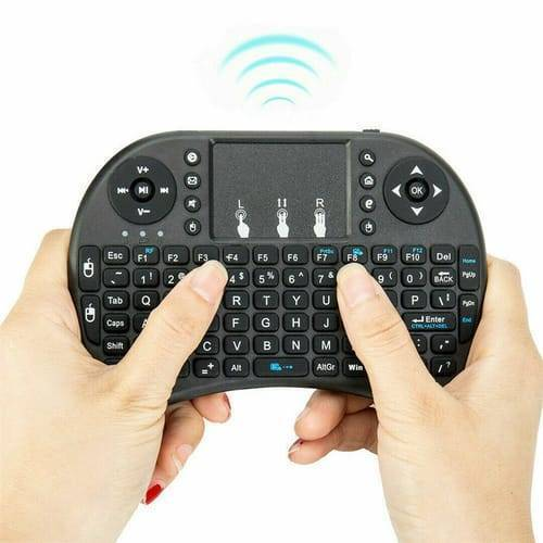Portable Mini Wireless Keyboard Controller with Touchpad Mouse Combo And Backlight