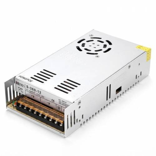 Switching DC Power Supply SMPS 12V 30A 360W