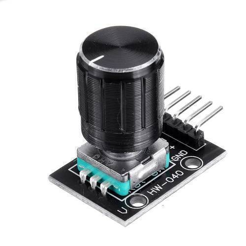 With Knob KY-040 Rotary Encoder Sensor Module With Push Button