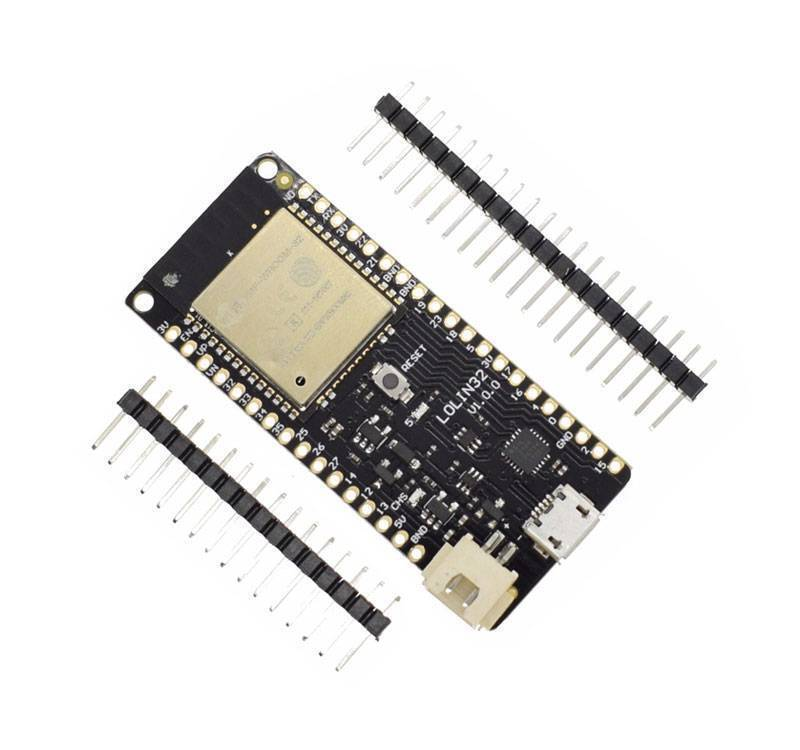 ESP32 Wemos LoLin32 ESP32, WiFi + Bluetooth + LiPo battery connector
