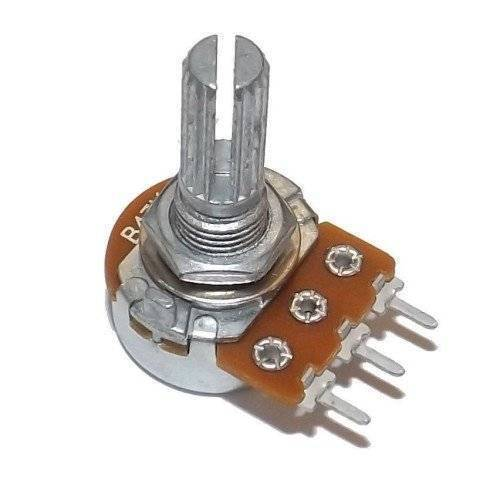Variable Resistor Rotary Potentiometer Volume Type