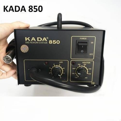 Adjustable Digital Hot Air Heat Gun SMD Rework Station KADA 850